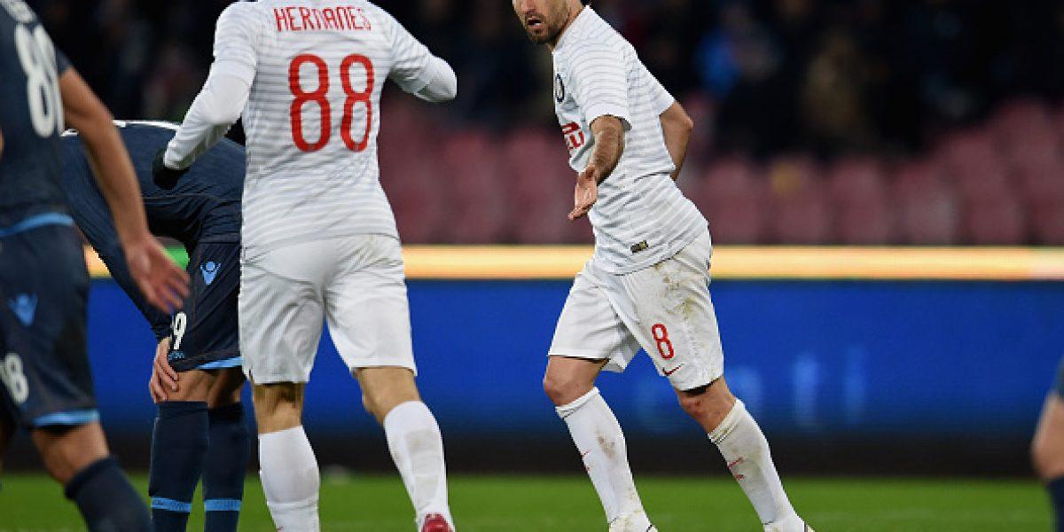 Un empate con sabor a victoria consiguió el Inter en su visita al Napoli