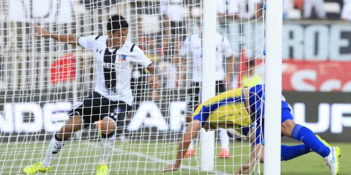 Colo Colo golea a la U de Conce con un inspirado Baeza y llega encendido al Superclásico