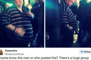 ¿Se acuerdan de este hombre? Fue avergonzado por querer bailar en un concierto gracias a su peso. Foto:Twitter. Imagen Por: