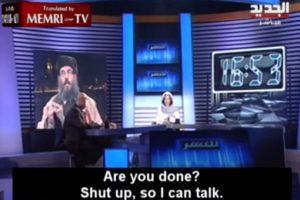 Pero él le dijo que se callara. Foto:Memri TV/Youtube. Imagen Por: