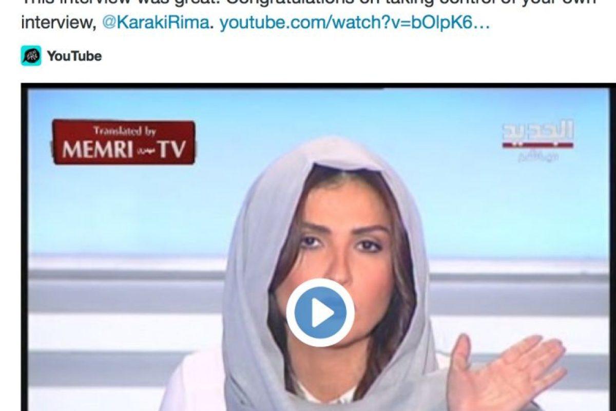 La han felicitado por Twitter. Foto:Rima Karaki/Twitter. Imagen Por: