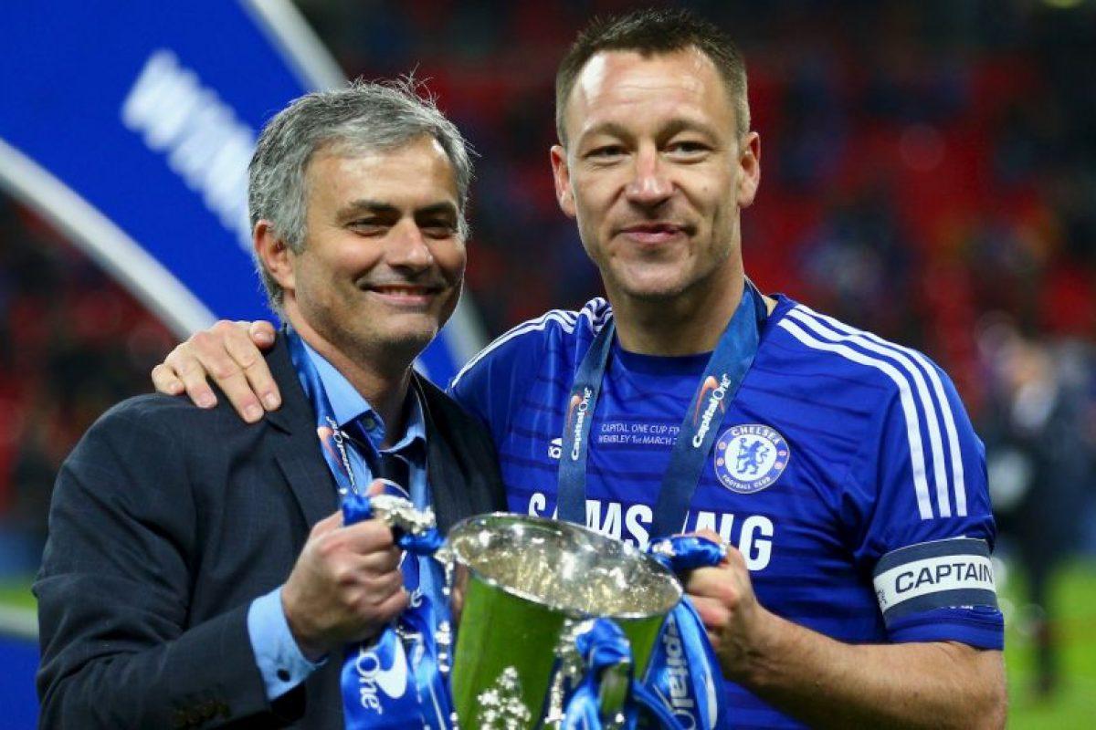 Fue su primer trofeo en su segunda etapa con el Chelsea Foto:Getty Images. Imagen Por: