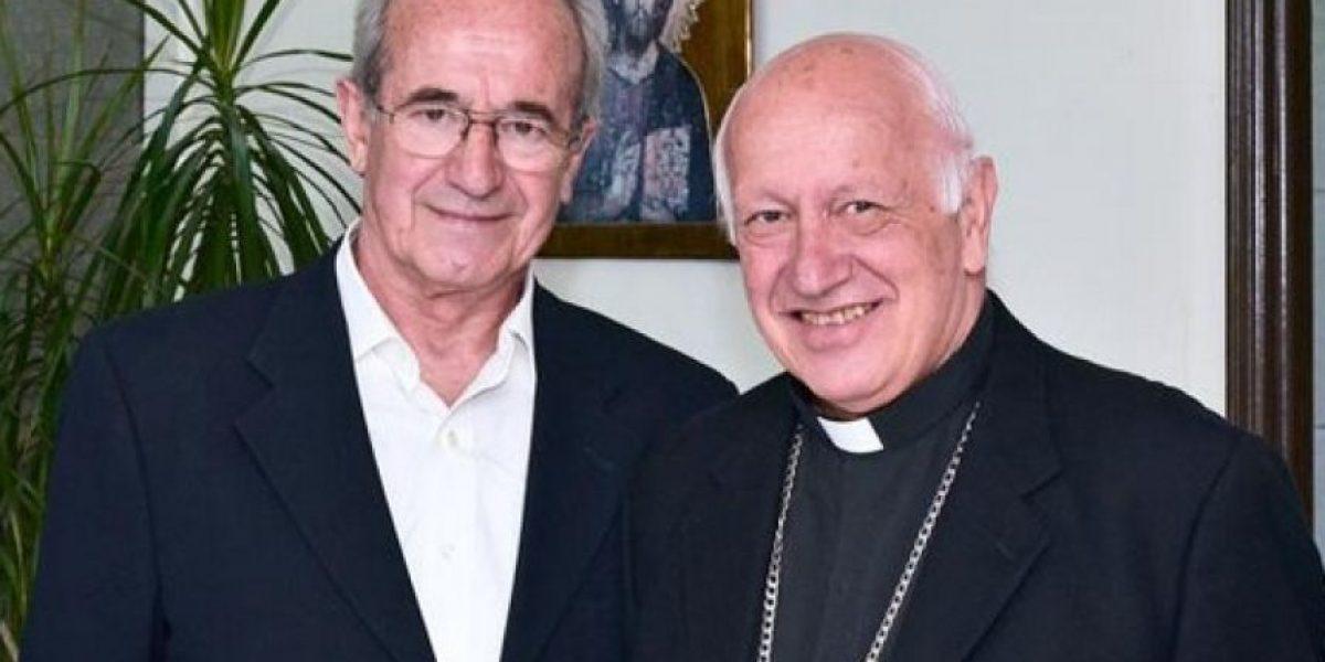 Cardenal Ezzati se reunió con actor que representará al papa Francisco