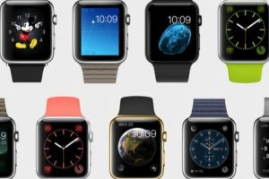 Hasta 18 modelos diferentes podrán elegir para su reloj en la edición Watch. Foto:Apple. Imagen Por:
