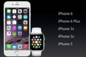Será compatible con el iPhone 5, 5c, 5s, 6 y 6 Plus. Foto:Apple. Imagen Por: