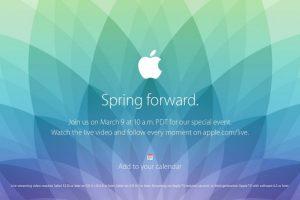 Este lunes será el evento de Apple. Foto:Apple. Imagen Por: