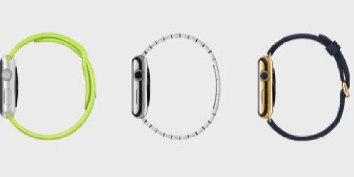 INFOGRAFÍA: Comparamos al Apple Watch con sus competidores