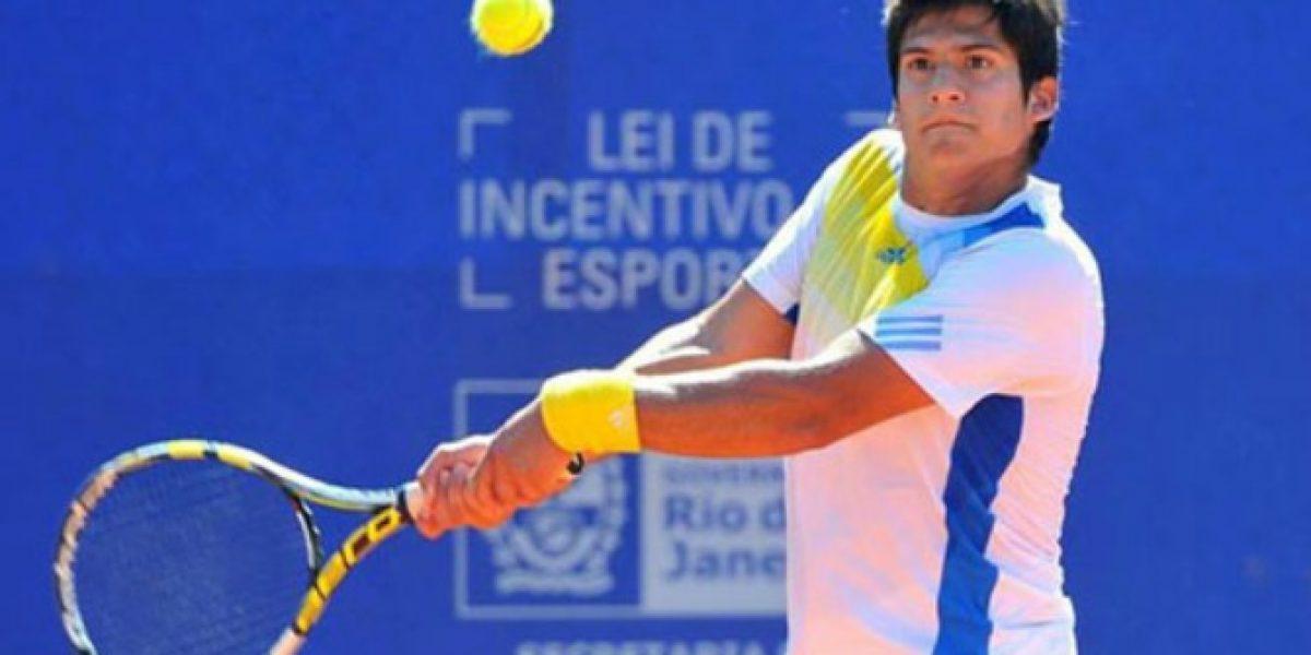 Bastián Malla debutó con trabajada victoria en el Challenger de Santiago
