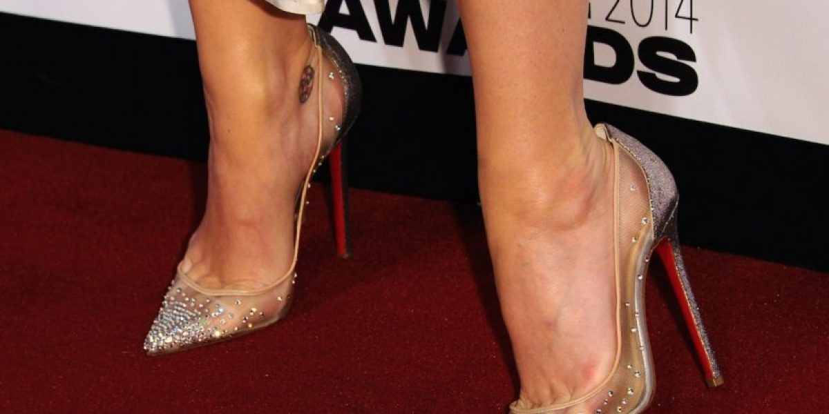 FOTO: Así lucen los pies de Katy Perry después de usar tacones