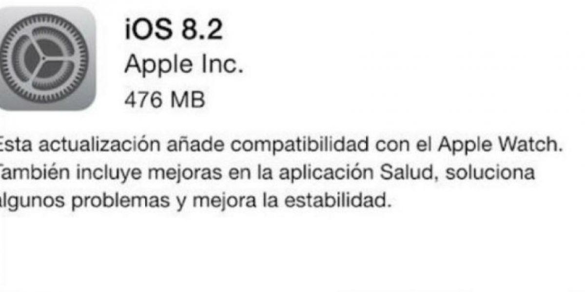 Estas son todas las novedades del nuevo iOS 8.2 de Apple