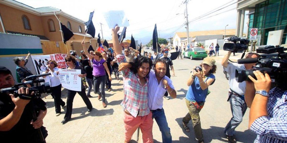 Pobladores de Caimanes celebraron la decisión del tribunal