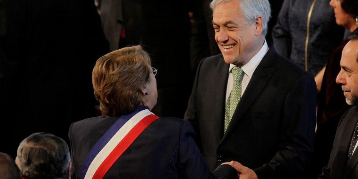 A un año de Gobierno, ¿cómo ha evolucionado la aprobación de los dos gobiernos de Bachelet versus el de Piñera?