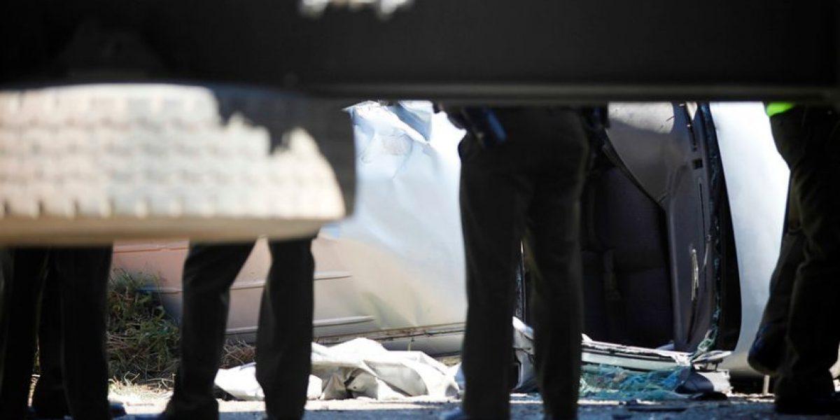Choque entre un auto y un camión dejó a un fallecido en el camino internacional a Mendoza