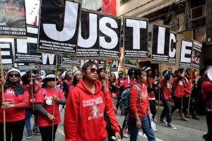 """La jueza Amanda Woodcock declaró que Law Wan-Tung debía cumplir 6 años en prisión por su comportamiento """"despreciable"""". Foto:Getty Images. Imagen Por:"""