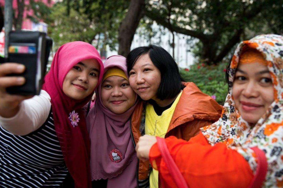 Erwina no fue la primera empleada que padeció este maltrado, antes de ella otras dos mujeres habían padecida con el trao de la señora Law Wan-Tung Foto:AFP. Imagen Por: