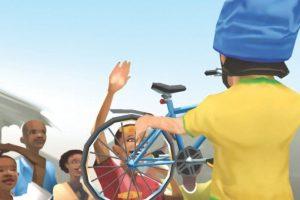 Desarrollado por la Iniciativa Global Gaming (GGI), Sidekick Cycle es un juego de moto de desplazamiento lateral que no sólo envía un mensaje, sino que también permite una acción. Mientras el jugador recoge las monedas y evita los obstáculos, una bicicleta de verdad se entrega a una comunidad empobrecida en el mundo. El propósito es: cada vez que este juego para iOS alcanza 387 descargas, el World Bicycle Relief hace que se convierta en realidad.  Foto:Sidekickcycle.com. Imagen Por: