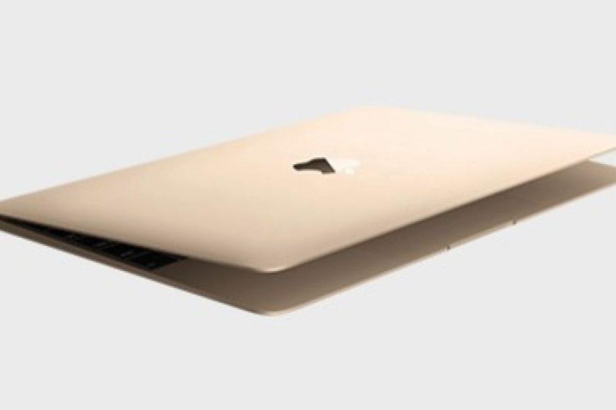 MacBook (2015). Pantalla Retina de 12 pulgadas con más de tres millones de pixeles. Foto:Apple. Imagen Por: