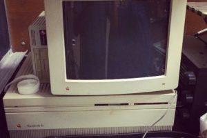 Macintosh IIx (1988). Su CPU era un Motorola 68030 corriendo a 16 MHz. Foto:instagram.com/fyang0414. Imagen Por: