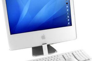 iMac Core Duo (2006). El primero de Apple con un procesador Intel, en este caso el Core Duo desde 1.83GHz. Foto:Apple. Imagen Por: