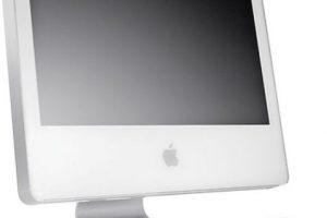 El tamaño de su pantalla era de 17, 20 o 24 pulgadas. Foto:Apple. Imagen Por: