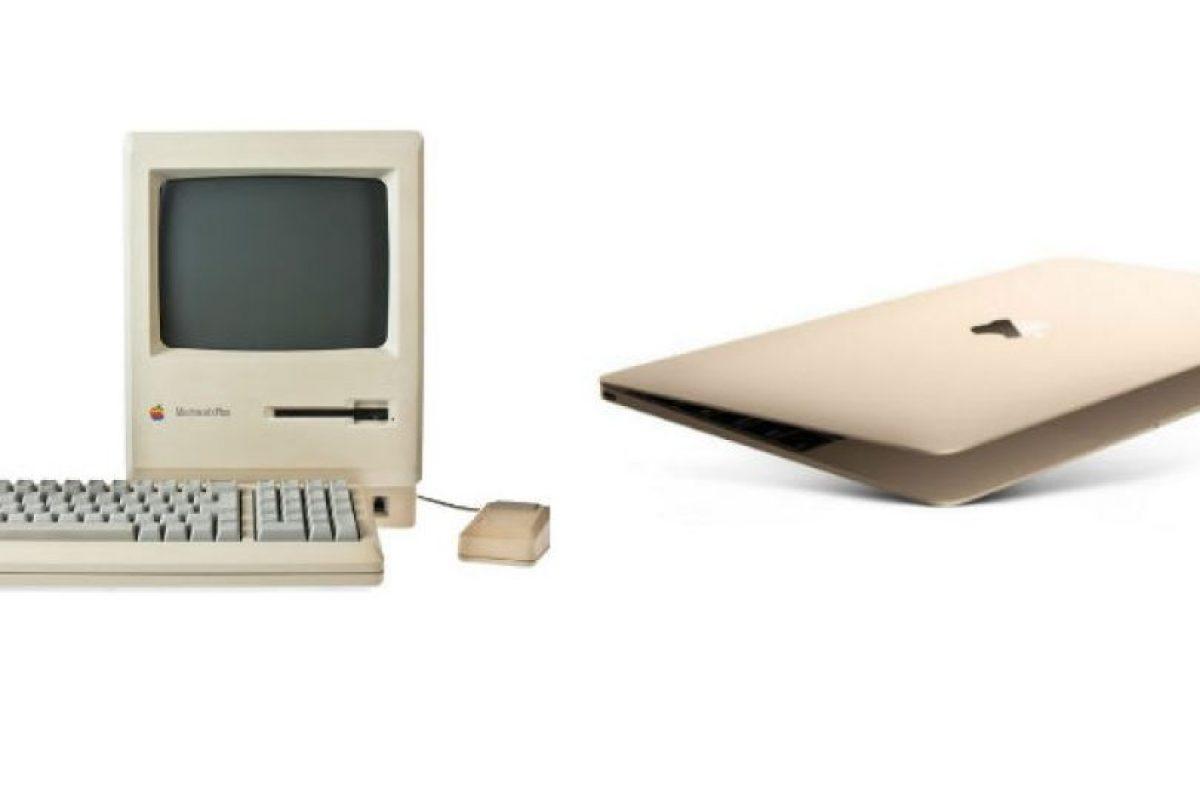 Así han cambiado las computadoras de Apple a lo largo de la historia. Foto:Apple. Imagen Por: