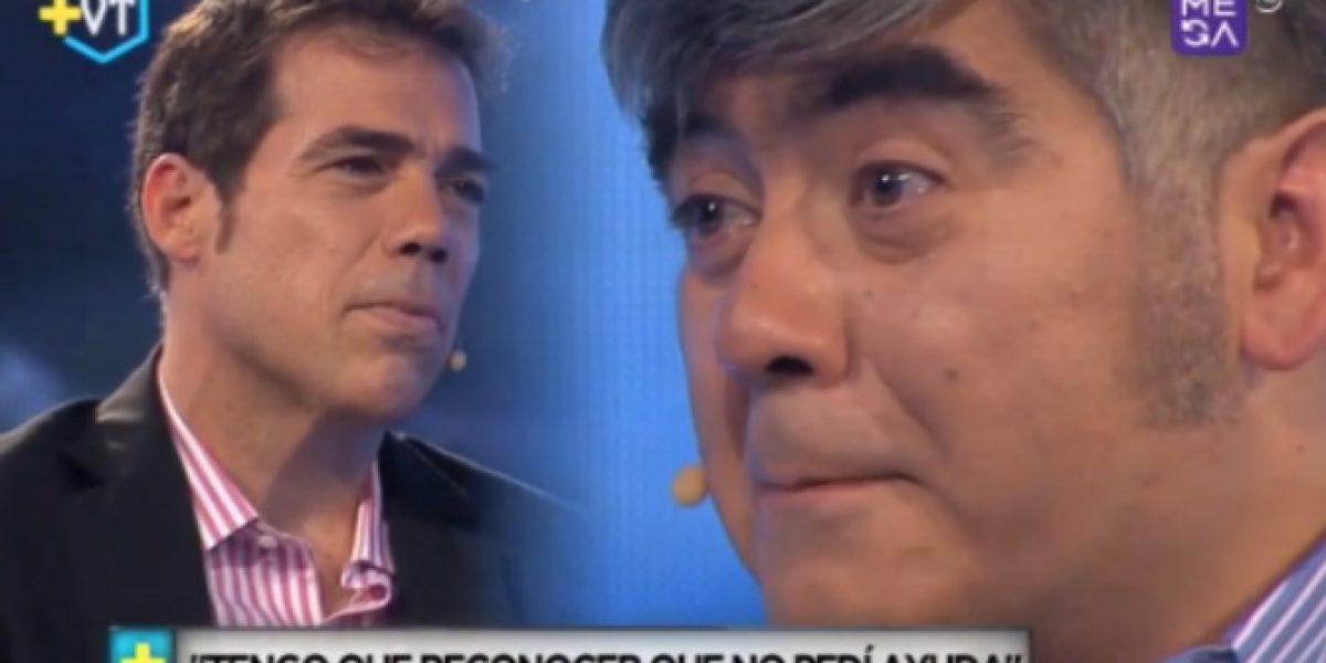 La cruda confesión de Carlos Tejos: