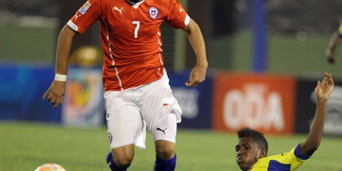 Otra goleada: Chile fue humillado por Ecuador en Sudamericano Sub 17
