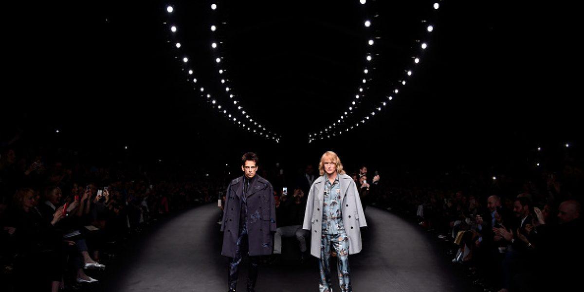 FOTOS: ¡Derek Zoolander regresó! Desfiló en la Semana de la Moda en París