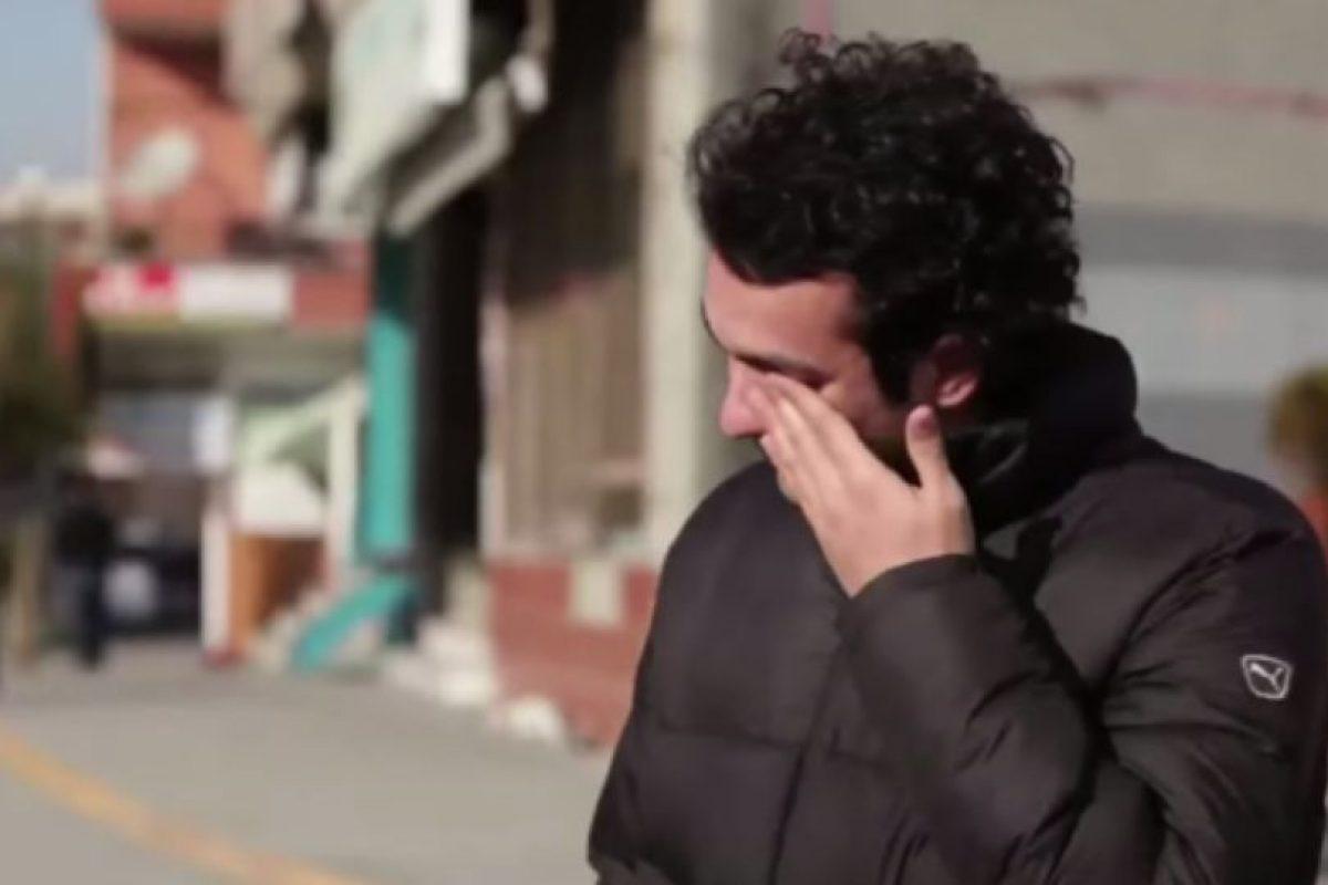 Todo hace parte de una campaña de publicidad, pero le dieron un gran momento. Foto:Samsung/Youtube. Imagen Por: