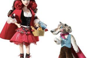 Caperucita roja y su lobo Foto:Mattel. Imagen Por: