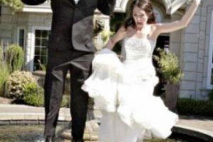 Que la novia se caiga, es lo peor que pude suceder. Foto:Adictamente. Imagen Por: