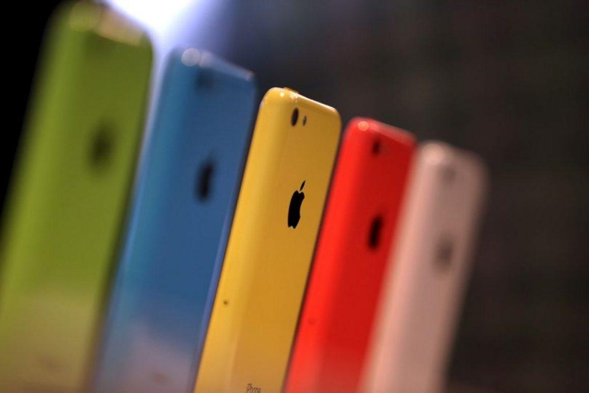 Los iPhone Colors fueron muy populares Foto:Getty. Imagen Por: