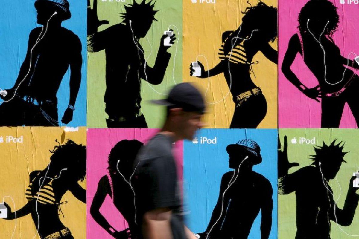 ¿Recuerdas esta campaña del iPod? Foto:Getty. Imagen Por: