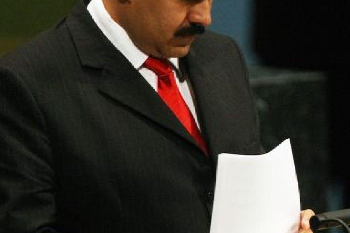 """4. Maduro también destacó que en Estados Unidos """"se han planteado perturbar grave y severamente a Venezuela"""". Foto:Getty. Imagen Por:"""