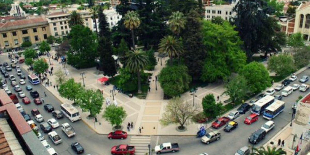 Plaza de Armas de Talca ahora cuenta con WiFi gratuito