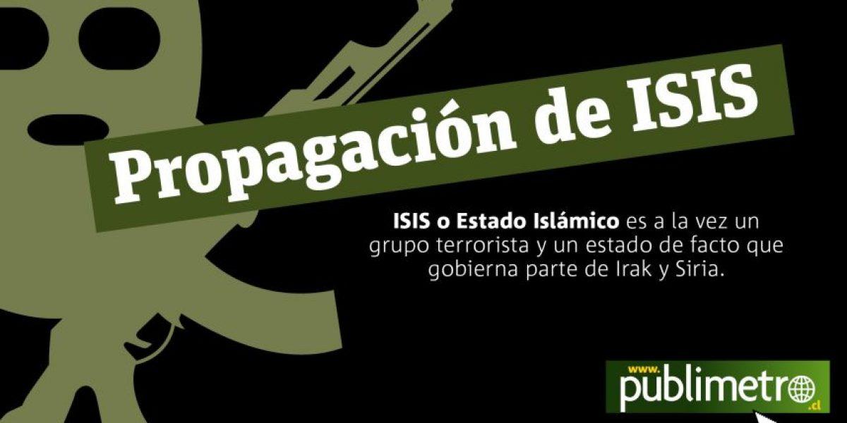Infografía: ¿Cómo ha evolucionado la propagación de ISIS en oriente?