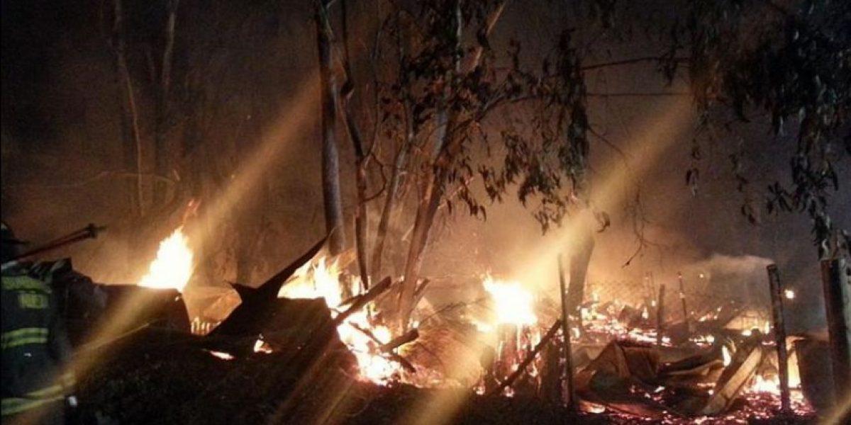 Incendio mató 30 caballos en caballerizas del Club de Huasos de Peñalolén