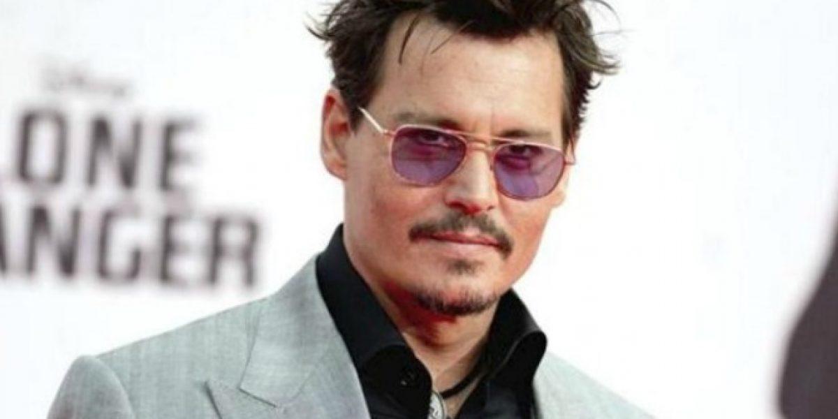 Johnny Depp sufre accidente en medio de filmación de