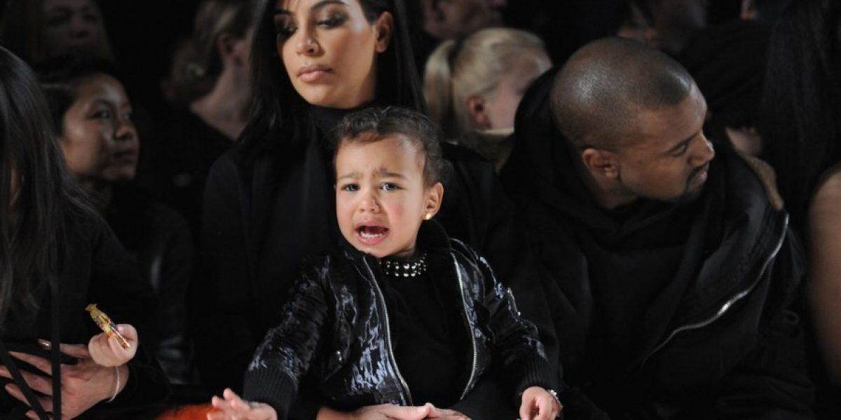 FOTO: Kim Kardashian convierte a su hija en un adorable mono