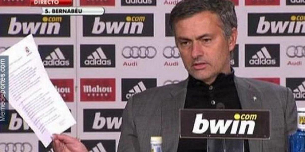 Se mofan de la eliminación del Chelsea y Mourinho en la Champions