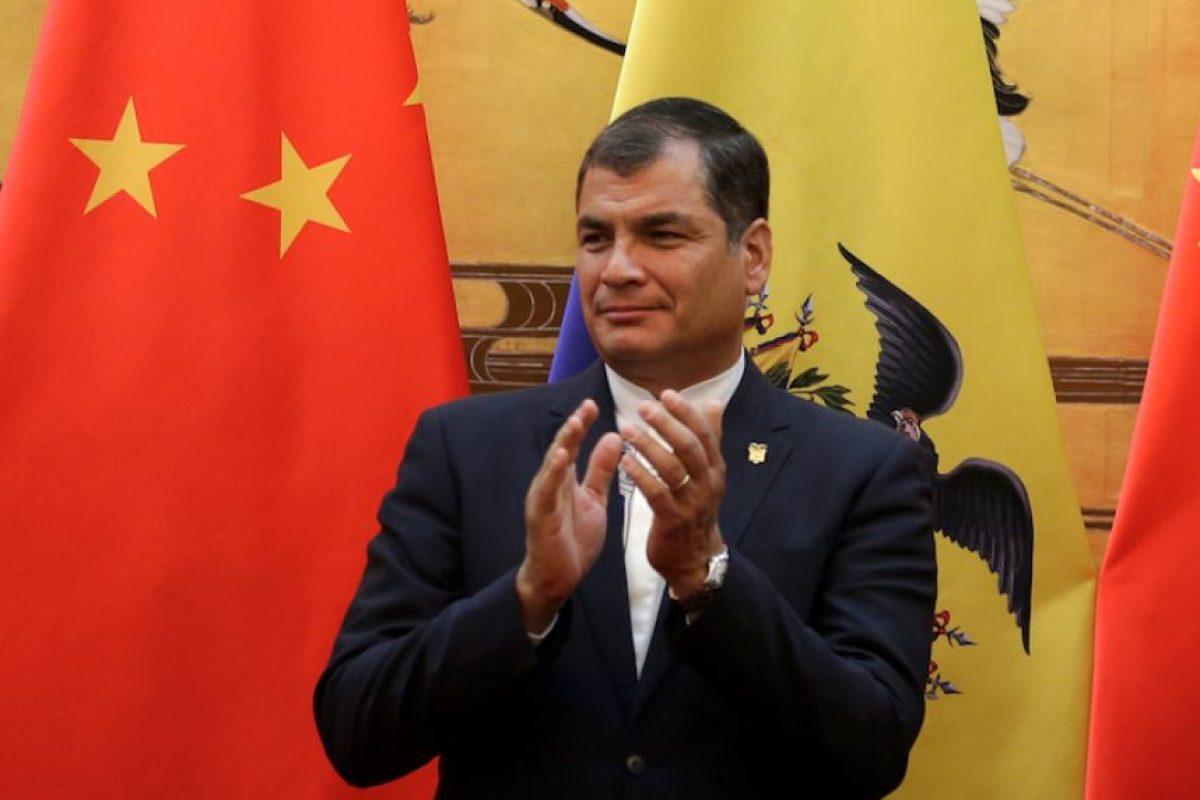 El presidente de Ecuador, Rafael Correa convocó una reunión con Unión de Naciones Suramericanas (Unasur), esto con el propósito de discutir las sanciones impuestas por Estados Unidos a militares venezolanos. Foto:Getty. Imagen Por: