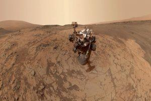 Curiosity en Marte Foto:AFP Photos. Imagen Por: