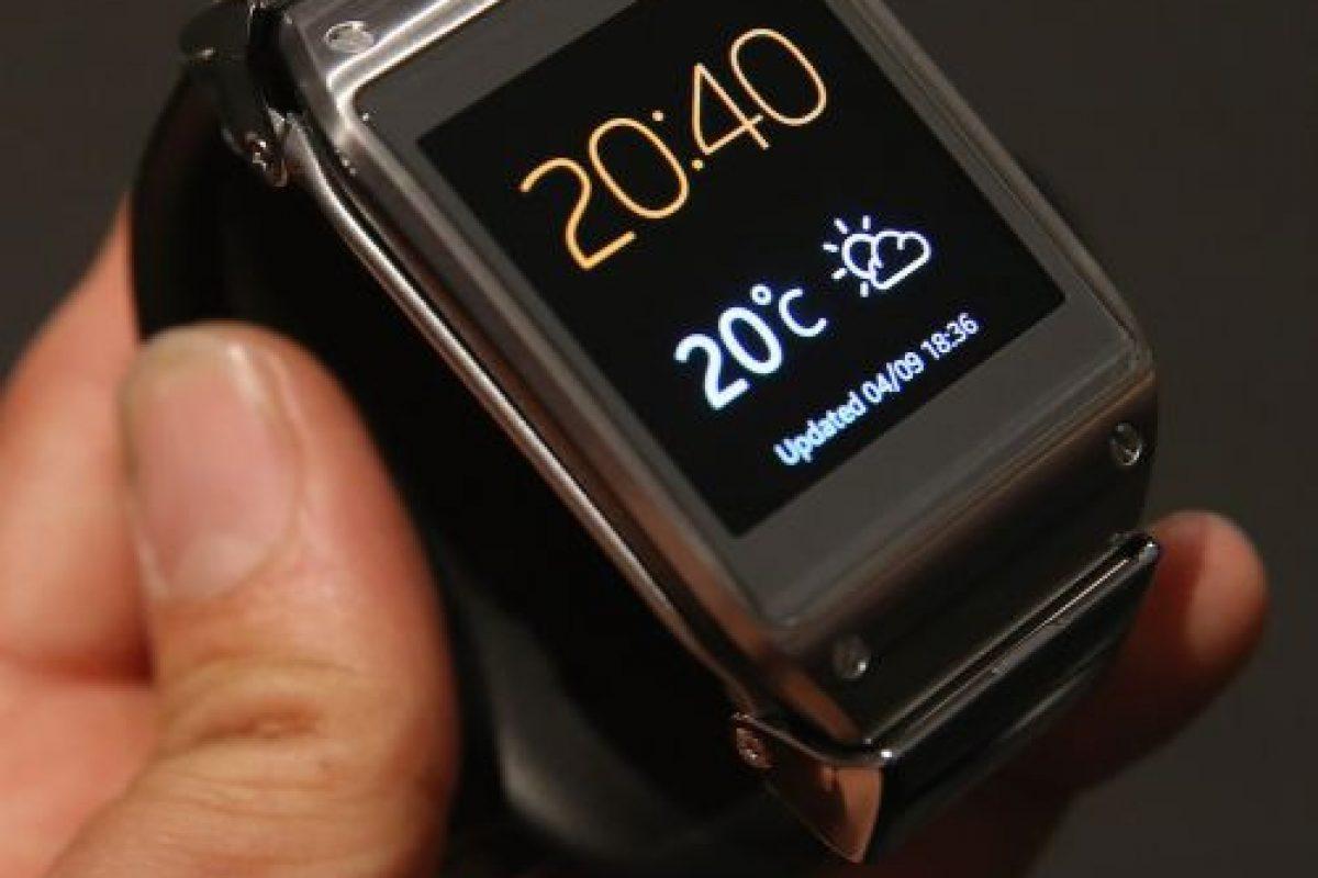 Samsung presentó hace unos meses su reloj inteligente. Foto:Getty Images. Imagen Por:
