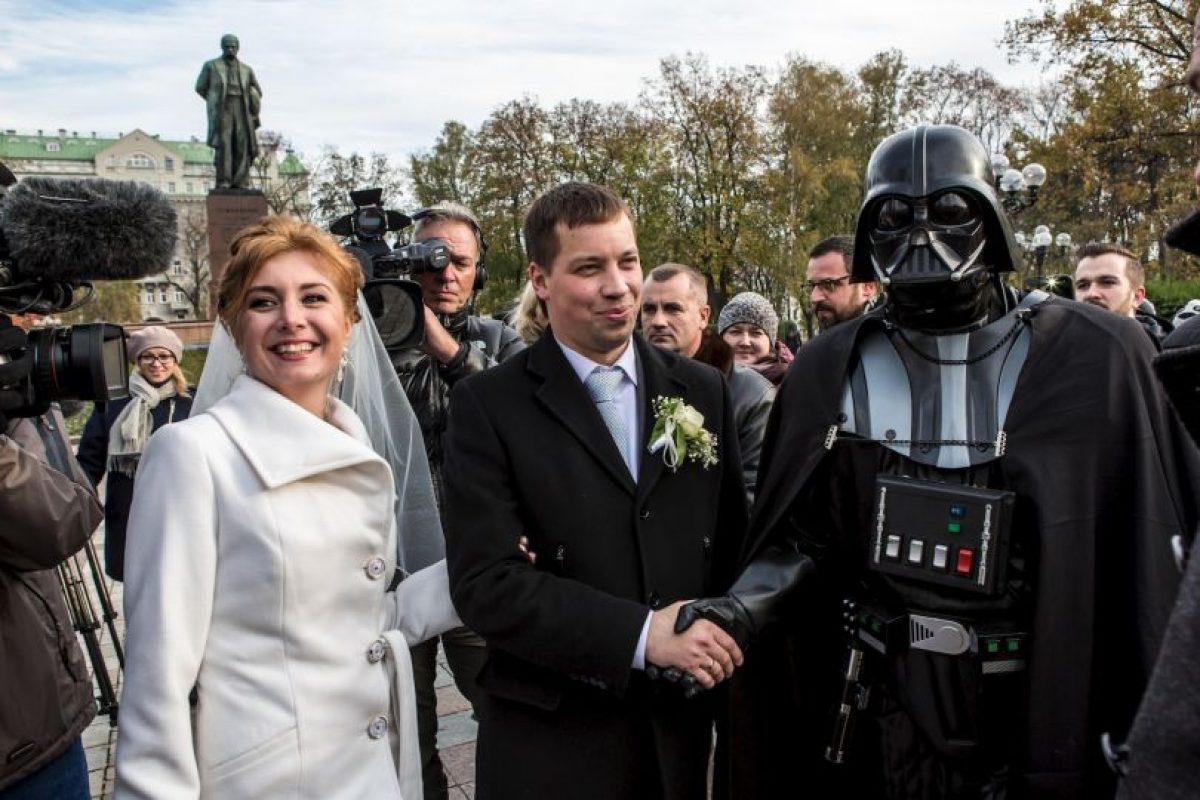 Elecciones en Ucrania: el representante del Partido de Internet se disfrazaba de Darth Vader Foto:Getty Images. Imagen Por: