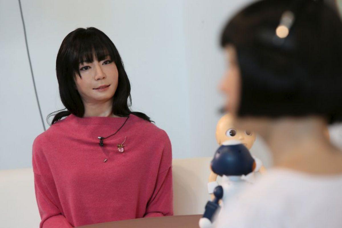Los androides, como anfitriones, son un tendencia muy marcada en Japón. Foto:AFP Photos. Imagen Por: