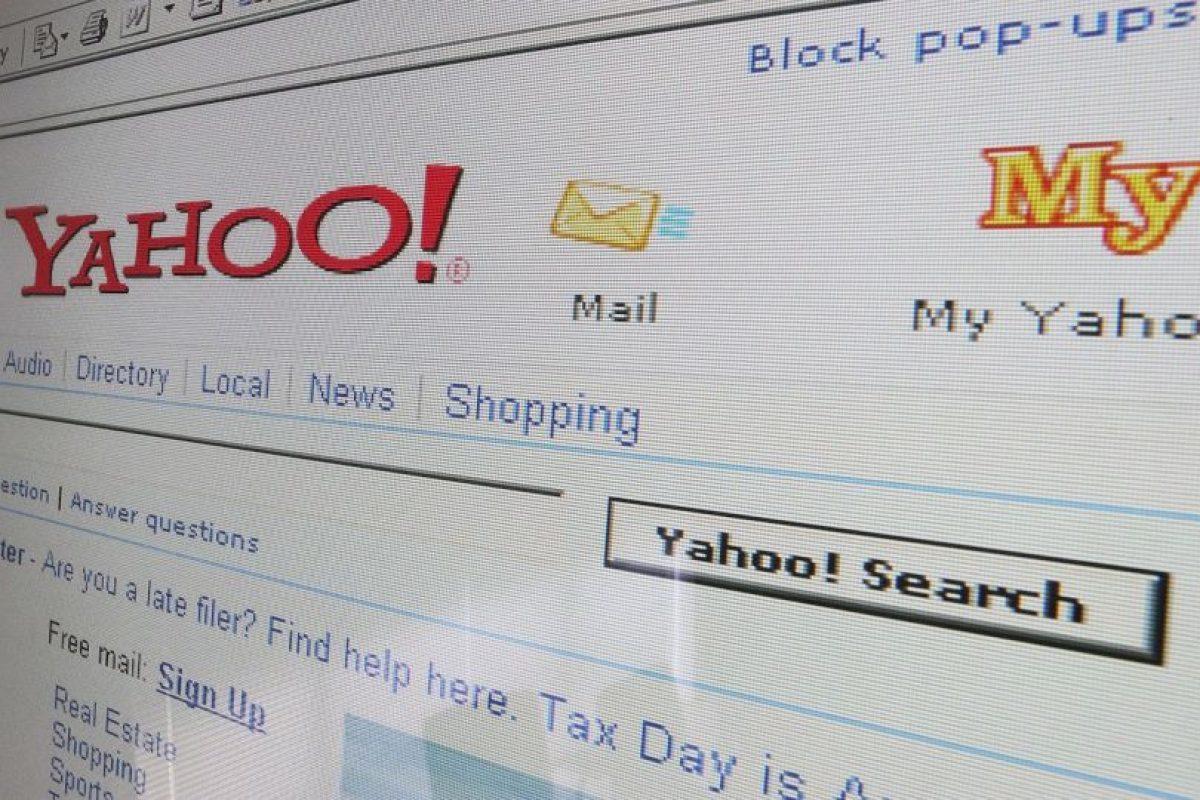 Yahoo fue también un buscador pionero para los usuarios. Foto:Getty Images. Imagen Por:
