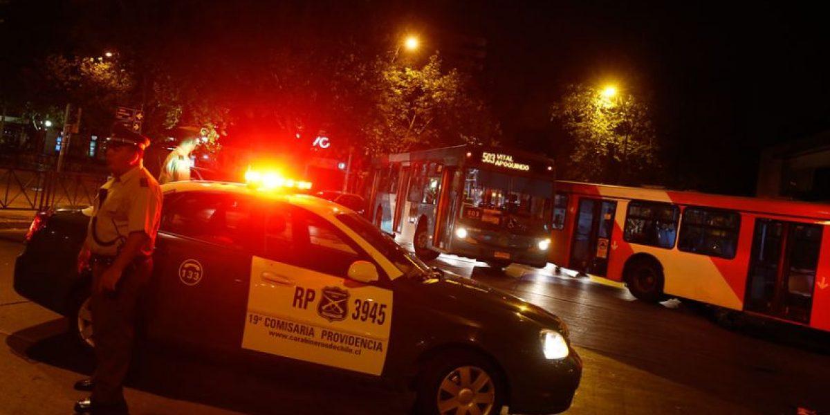 Tres robos frustrados de cajeros automáticos marcan la madrugada capitalina de este jueves
