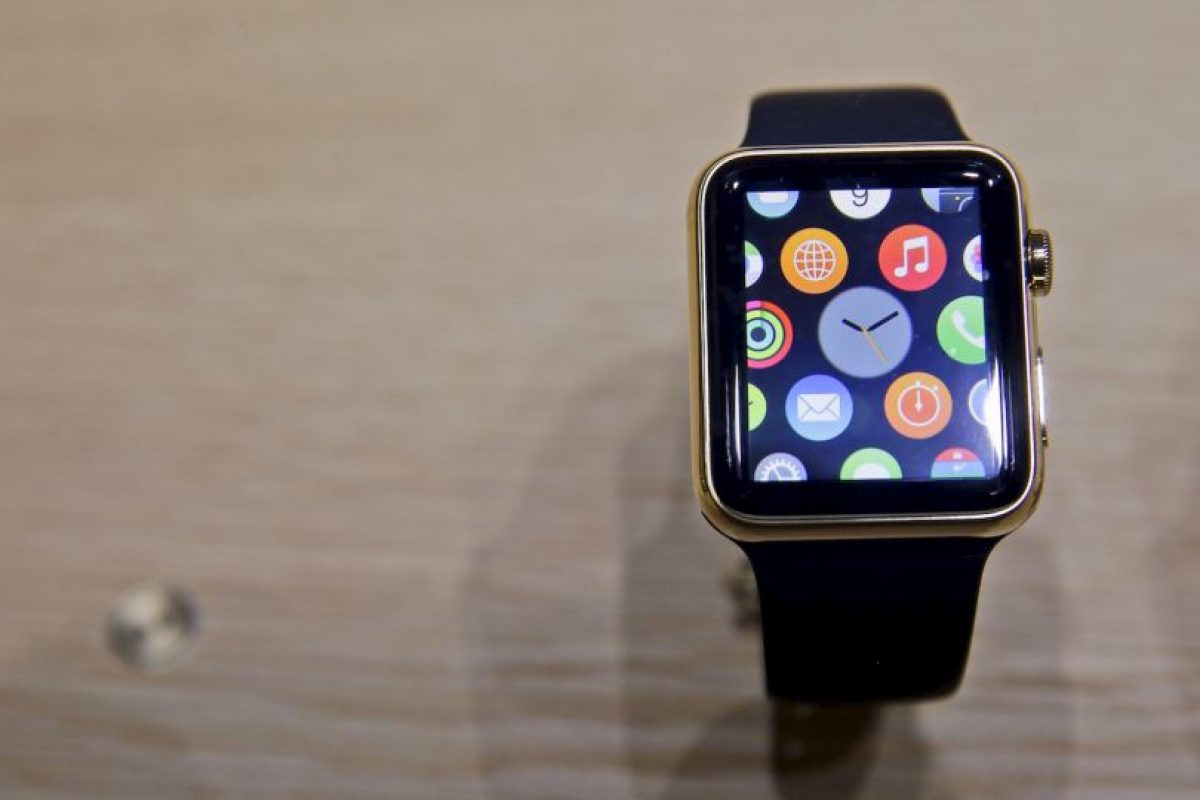 Vista frontal del Apple Watch Foto: AP Exchange. Imagen Por: