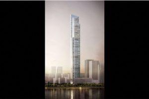 9. CTF Finance Center (China) – 111 pisos – 530 metros (1739 pies) Foto:Kohn Pedersen – Skyscrapercenter.com. Imagen Por: