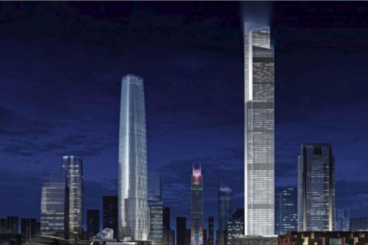 Tiene los elevadores más rápidos del mundo: suben a 70 km/h Foto: Kohn Pedersen – Skyscrapercenter.com. Imagen Por: